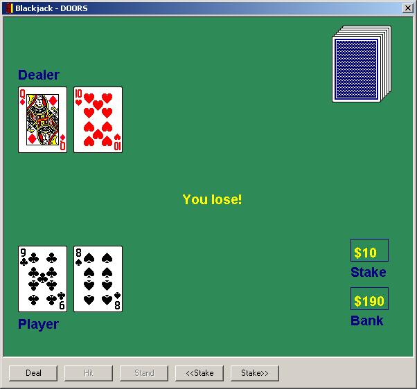 Blackjack for DOORS  sc 1 st  Smart DXL & Recreational DXL